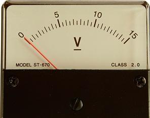 Transformer Voltage Meter